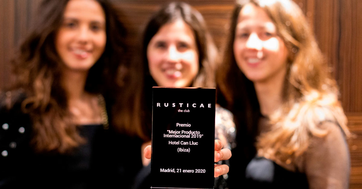 Rusticae award obtained by Can Lluc farmhouse - Blog of the interior design studio Farré & Costa