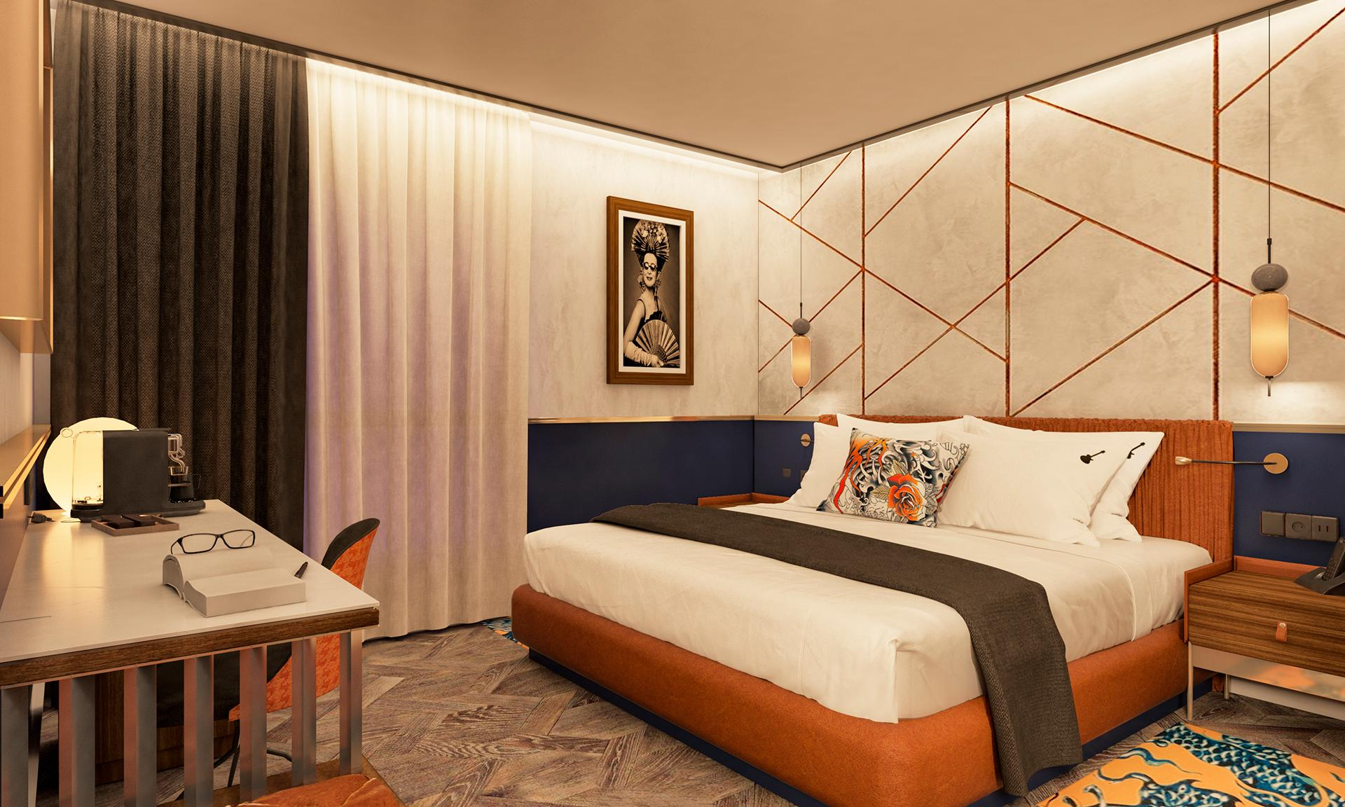 Concept Design Hotel Madrid